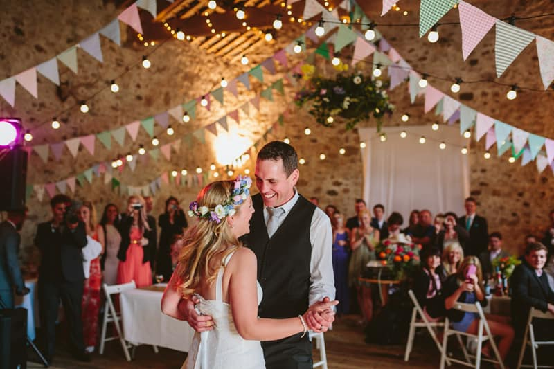 English Festival Barn Wedding
