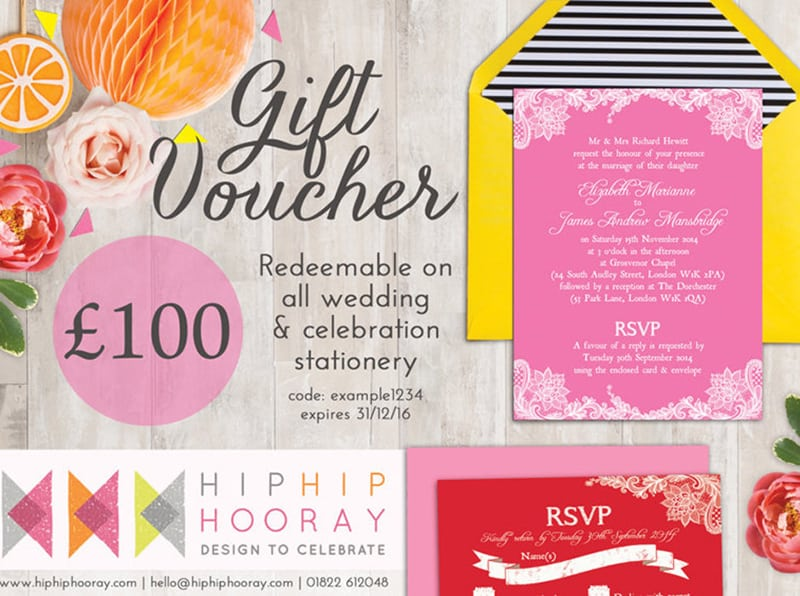 Win Gift Voucher Competition Stationery Hip Hip Hooray