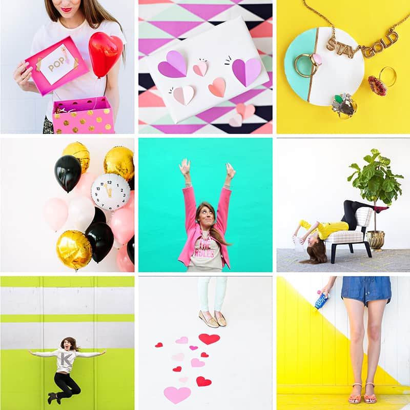 Studio DIY Colorful Instagram Account