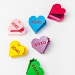 PRINTABLE GEOMETRIC HEART FAVOUR BOXES