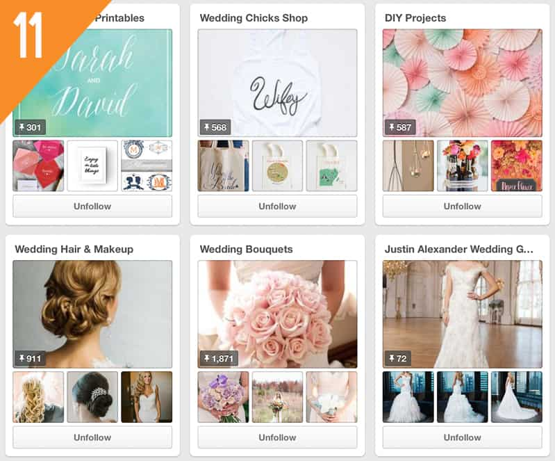 11 Wedding Chicks Pinterest Wedding Accounts To Follow