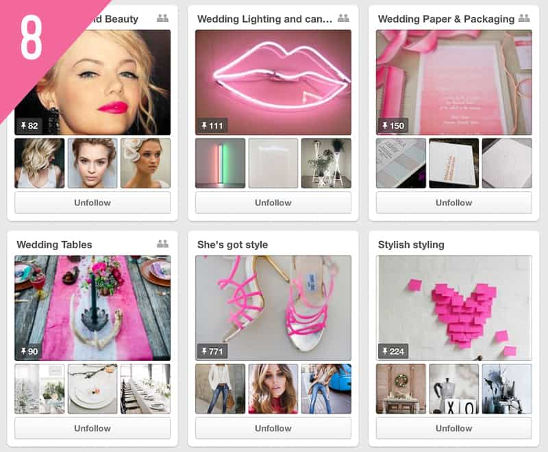 8 Pocketful Of Dreams Wedding Pinterest Accounts to follow for inspiration