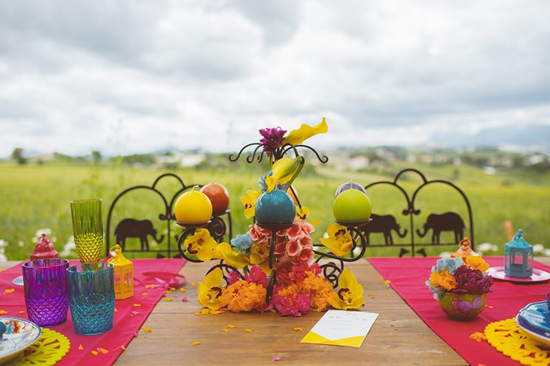 Festival Inspired Gypsy Mexican Fiesta Wedding Isnpiration 3