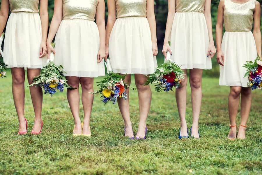 Gold Bridesmaid Dress Shoes