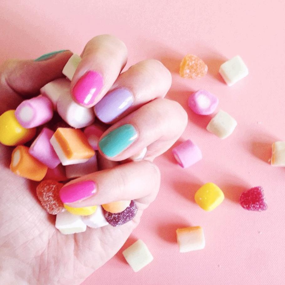 Jelly Mixture Nail Varnish