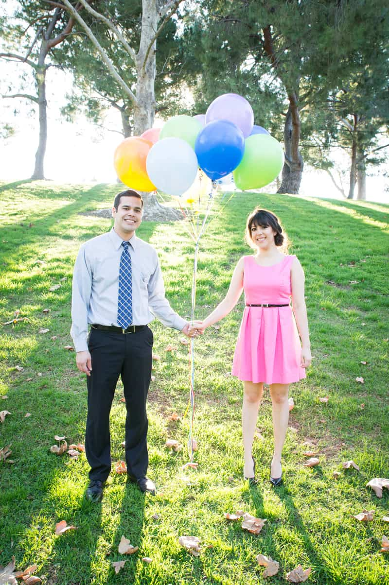 Up Themed Engagement Shoot 15
