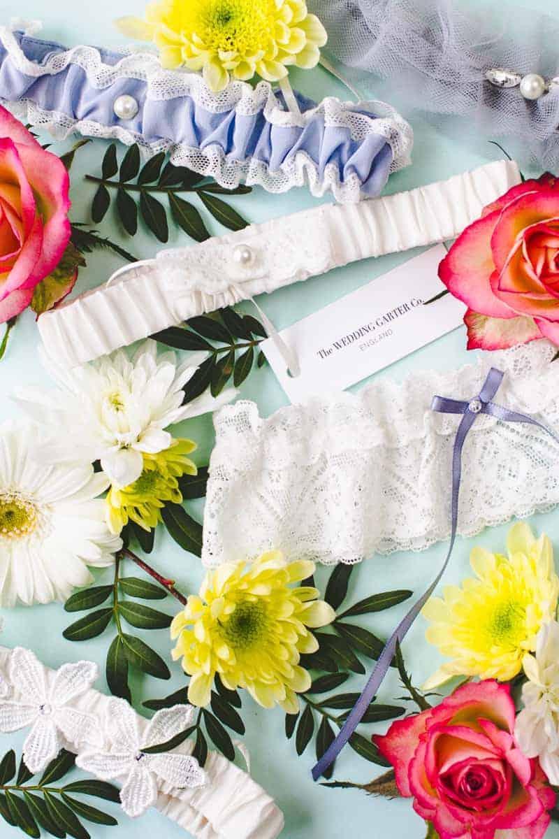 Wedding Garter Co Pretty Flower Unique Garters-1