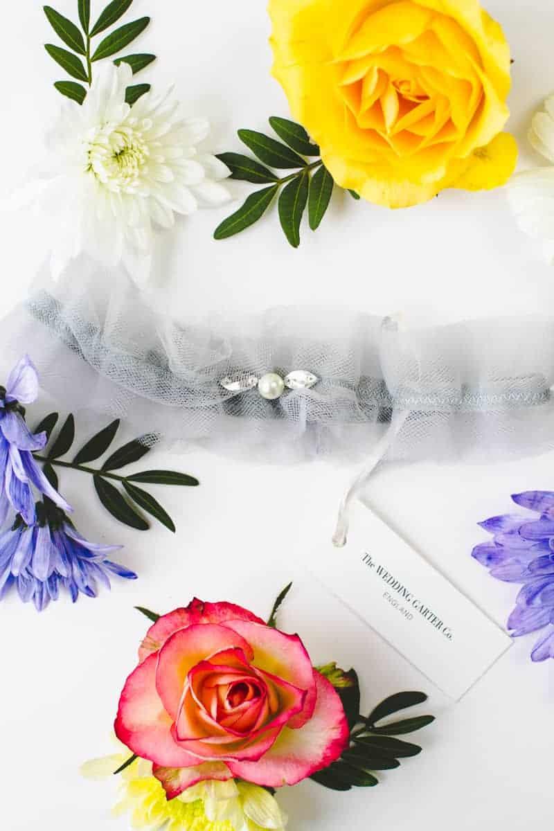 Wedding Garter Co Pretty Flower Unique Garters-4