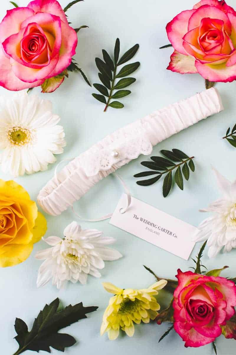 Wedding Garter Co Pretty Flower Unique Garters-5