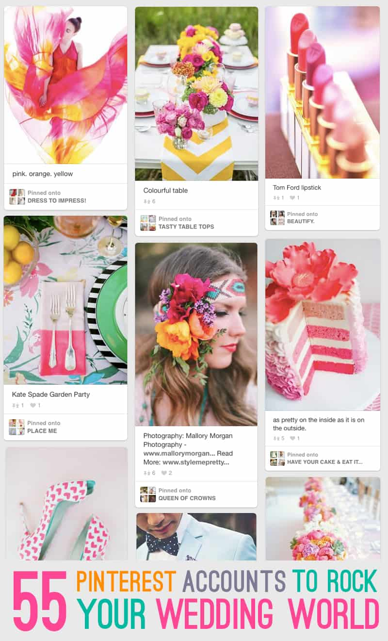 Wedding Pinterest Accounts To Follow for Inspiration 2