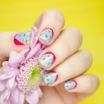 DIY FLOWER NAIL ART TO FLAUNT THIS SPRING