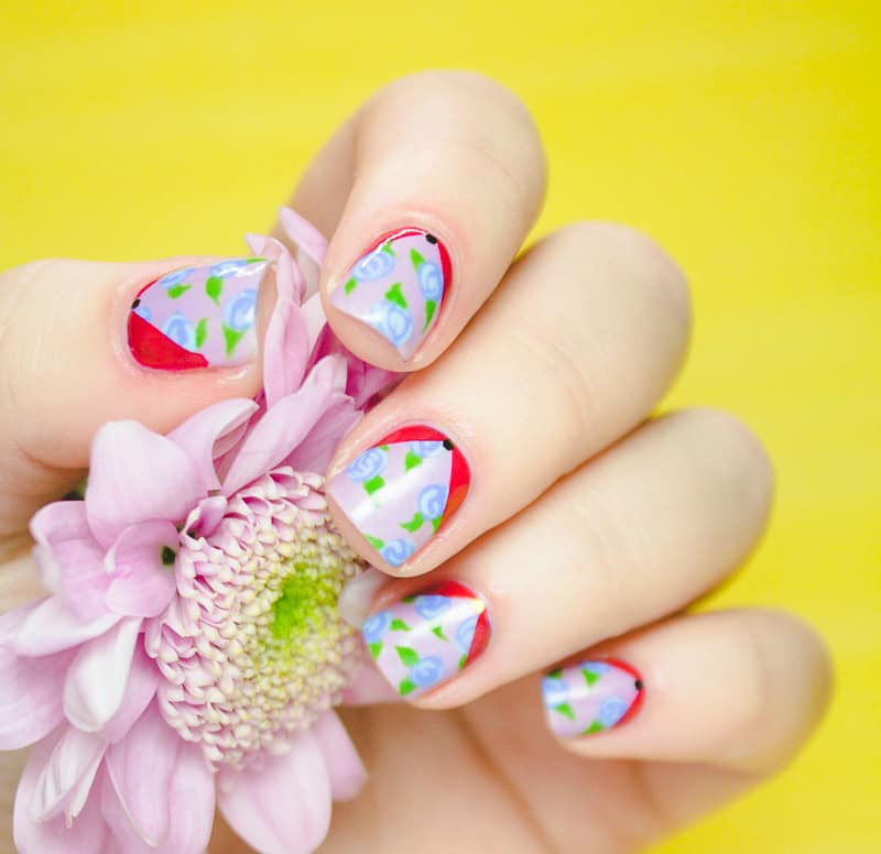 Floral Nail Art Tutorial Main Pic