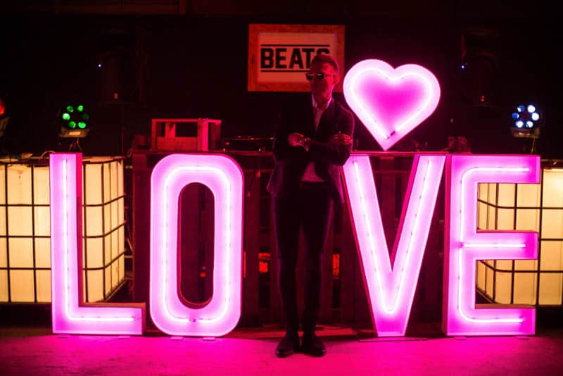 NEON WEDDING RAVE IN MANCHESTER INDUSTRIAL WAREHOUSE (18)