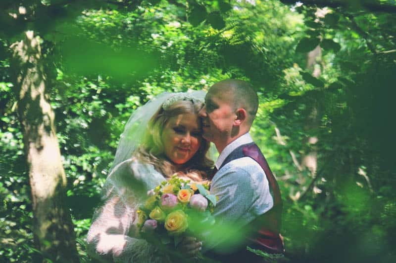 TRAVEL INSPIRED WOODLAND WEDDING (12)