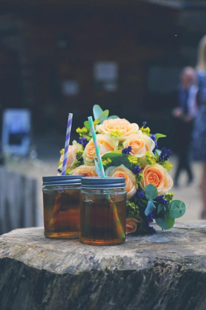 TRAVEL INSPIRED WOODLAND WEDDING (6)