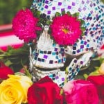 MAKE THIS MOSAIC SKULL CENTREPIECE