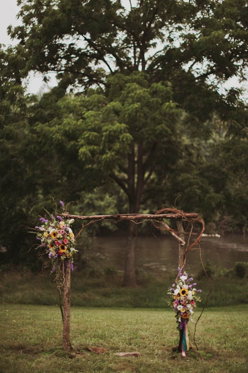A BRIGHT & BEAUTIFUL TECHNICOLOUR WEDDING IN THE RAIN! (3)