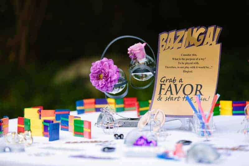 Big Bang Themed Science Wedding Inspiration (21)