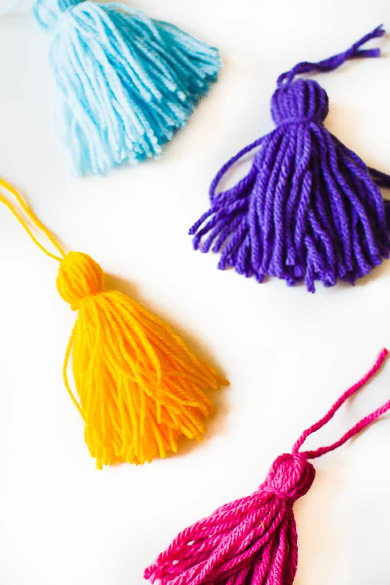 DIY Tassel Tassle table cloth with Zazzle Mexican inspired wedding inspiration styling-7