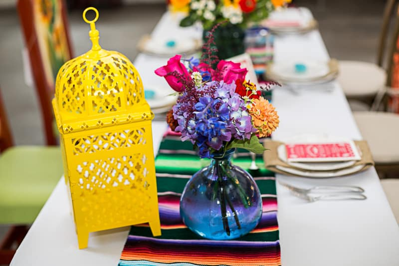 How to style a mexican themed table wedding inspiration 10