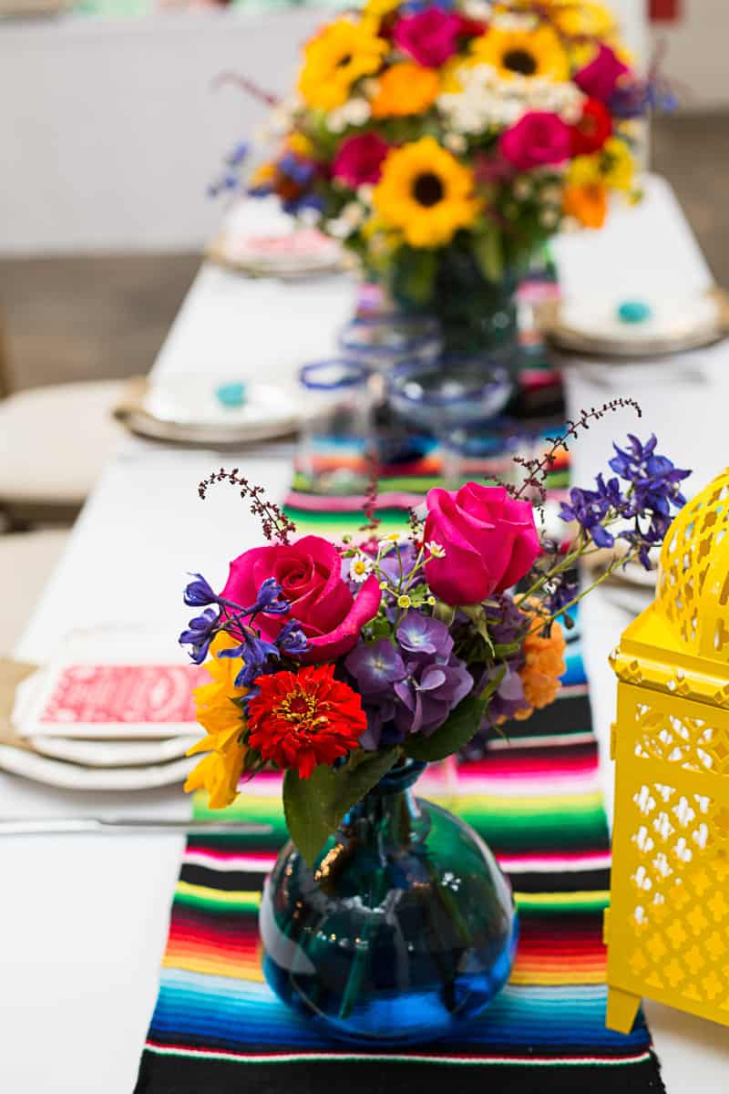 How to style a mexican themed table wedding inspiration 12
