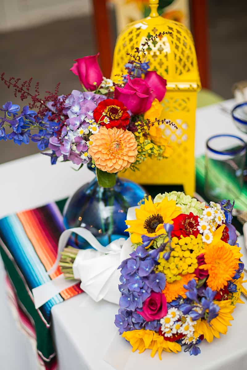How to style a mexican themed table wedding inspiration 19