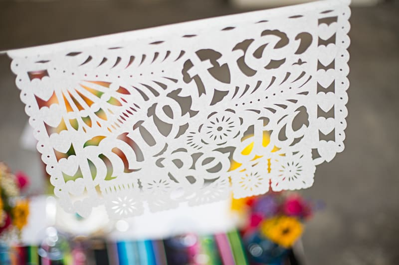 How to style a mexican themed table wedding inspiration 22