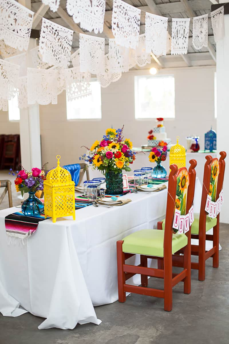 How to style a mexican themed table wedding inspiration 7