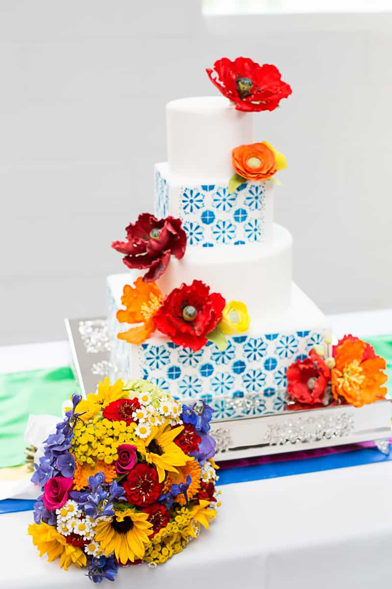How to style a mexican themed table wedding inspiration 8