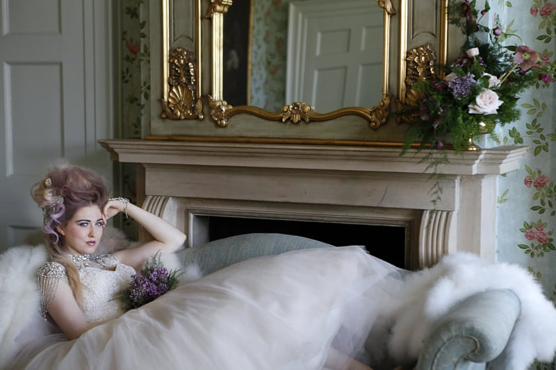 Marie Antoinette Styled shoot with a Punk Twist