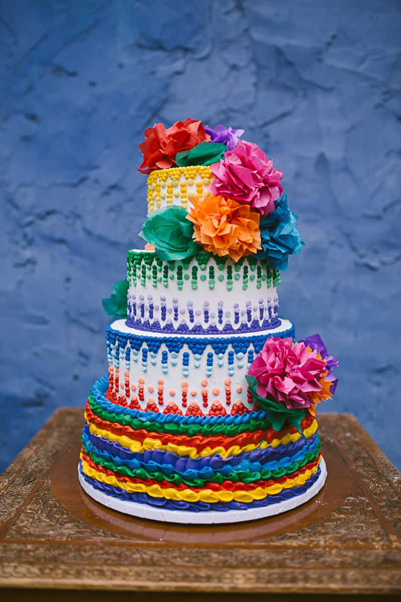 mexico themed wedding cake a mexican themed complete with balloons 17327