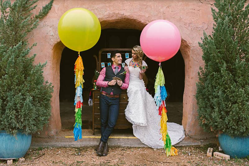 Mexican Fiesta Wedding Inspiration Giant Balloons Cinco De Mayo Dia De Los Muertos_-24