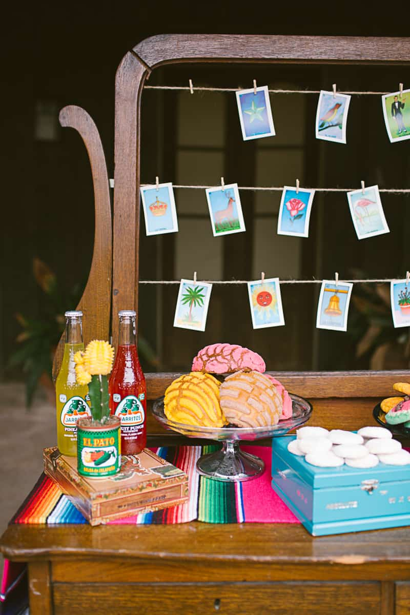 A Mexican Themed Fiesta Complete With Giant Balloons