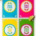 FREE PRINTABLE MEXICAN THEMED TABLE NUMBERS