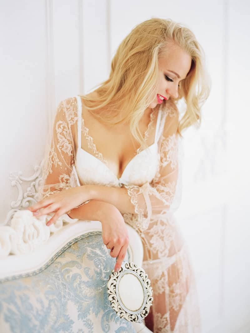 Soft Romantic Boudoir Shoot Session Bespoke Bride 13
