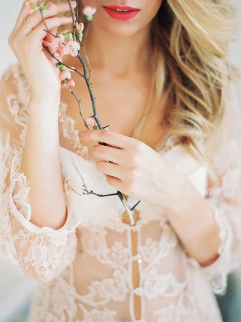 Soft Romantic Boudoir Shoot Session Bespoke Bride 15
