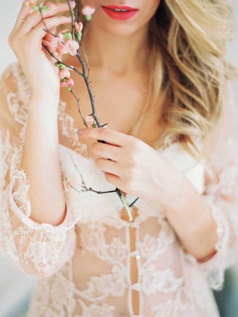 Soft Romantic Boudoir Shoot Session Bespoke Bride 15