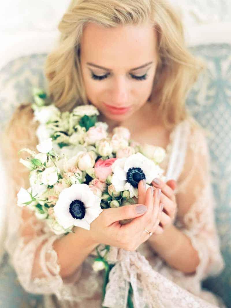 Soft Romantic Boudoir Shoot Session Bespoke Bride 18
