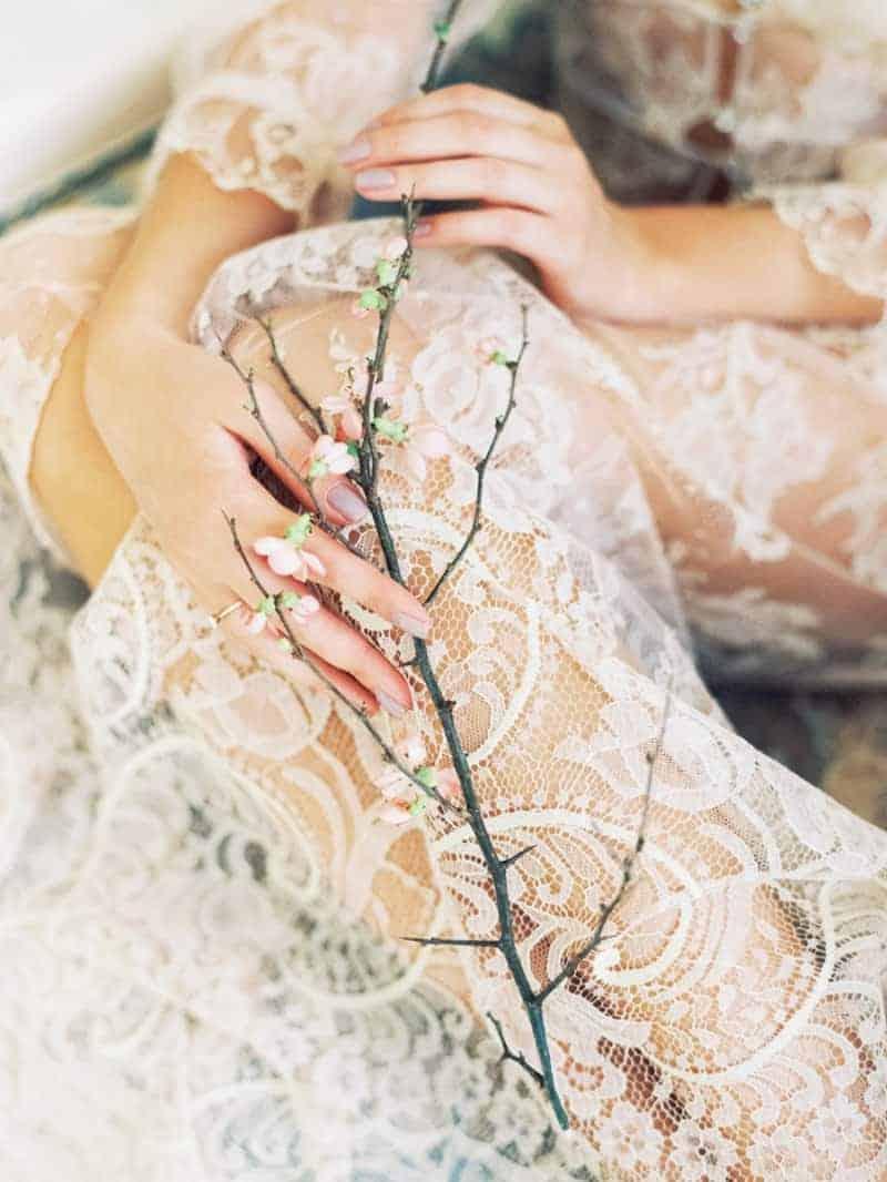 Soft Romantic Boudoir Shoot Session Bespoke Bride 21