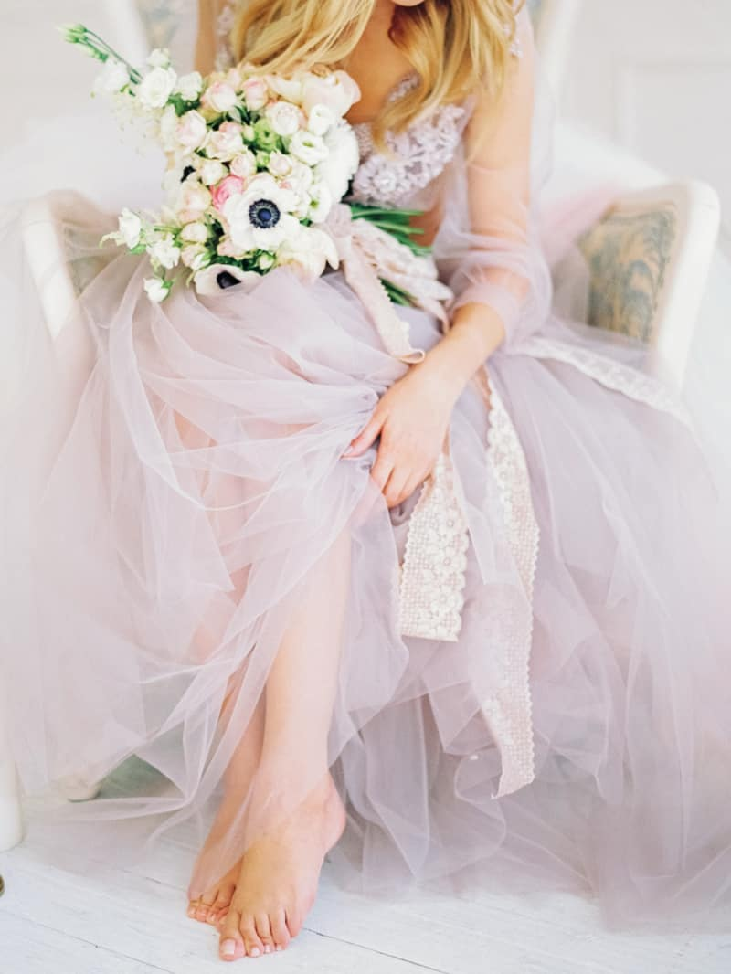 Soft Romantic Boudoir Shoot Session Bespoke Bride 26