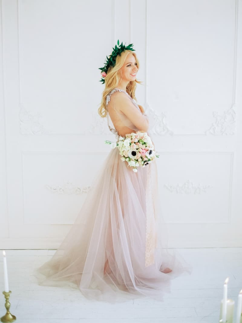 Soft Romantic Boudoir Shoot Session Bespoke Bride 4