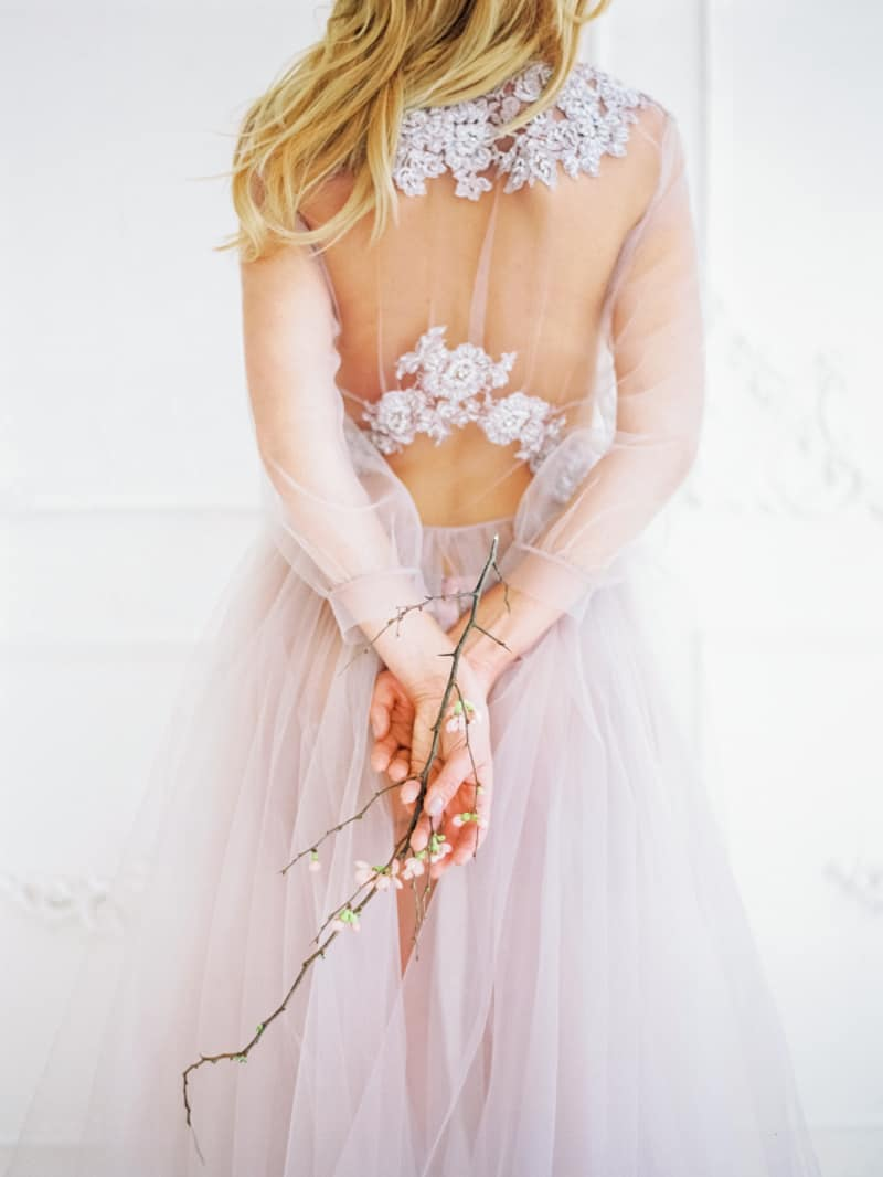 Soft Romantic Boudoir Shoot Session Bespoke Bride 5