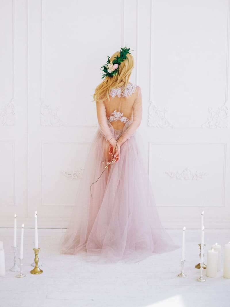 Soft Romantic Boudoir Shoot Session Bespoke Bride 6