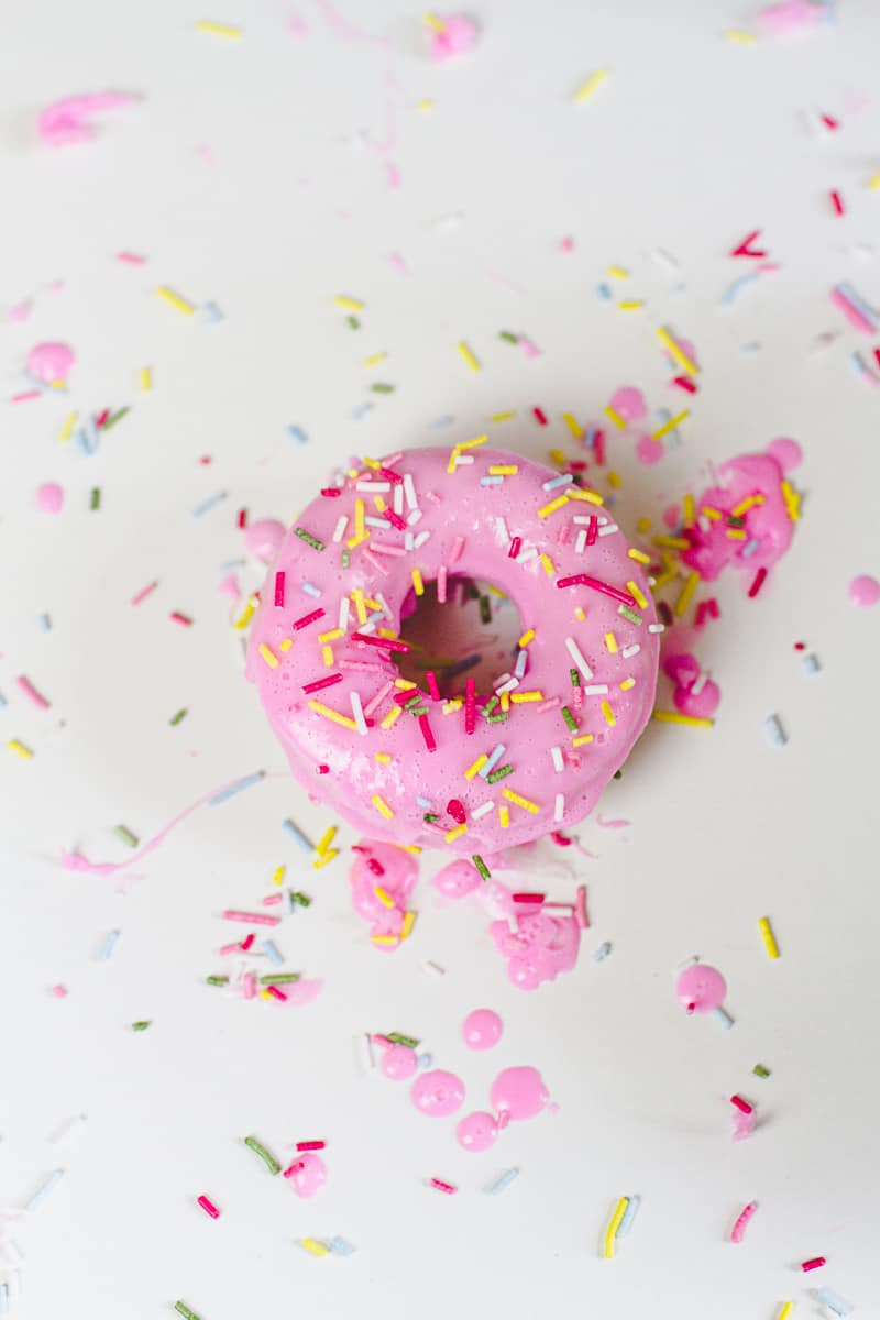 DIY Donut Soap Favours Sprinkles Doughnut Melt and pour-2