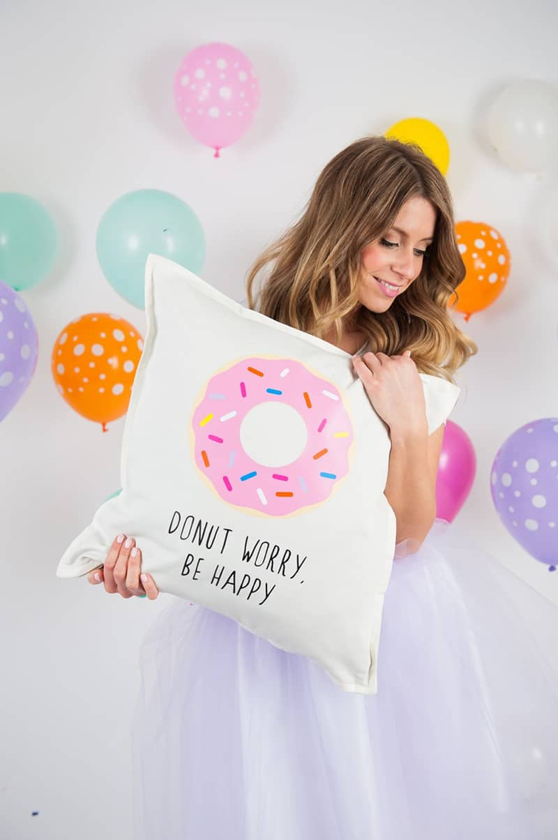 Donut cushion Pillow Etsy