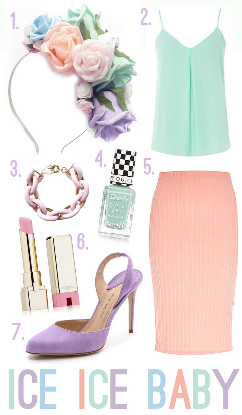 Ice Ice Baby Pastel Wedding Outfit