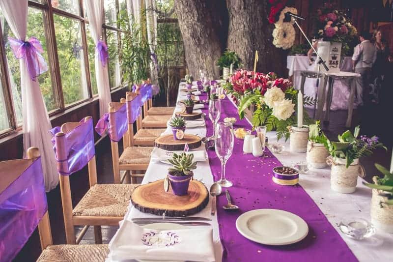 Sharlene and Zane's Bold Woodland Wedding in a treehouse  (20)