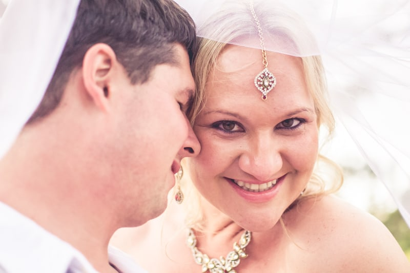 Sharlene and Zane's Bold Woodland Wedding in a treehouse  (24)