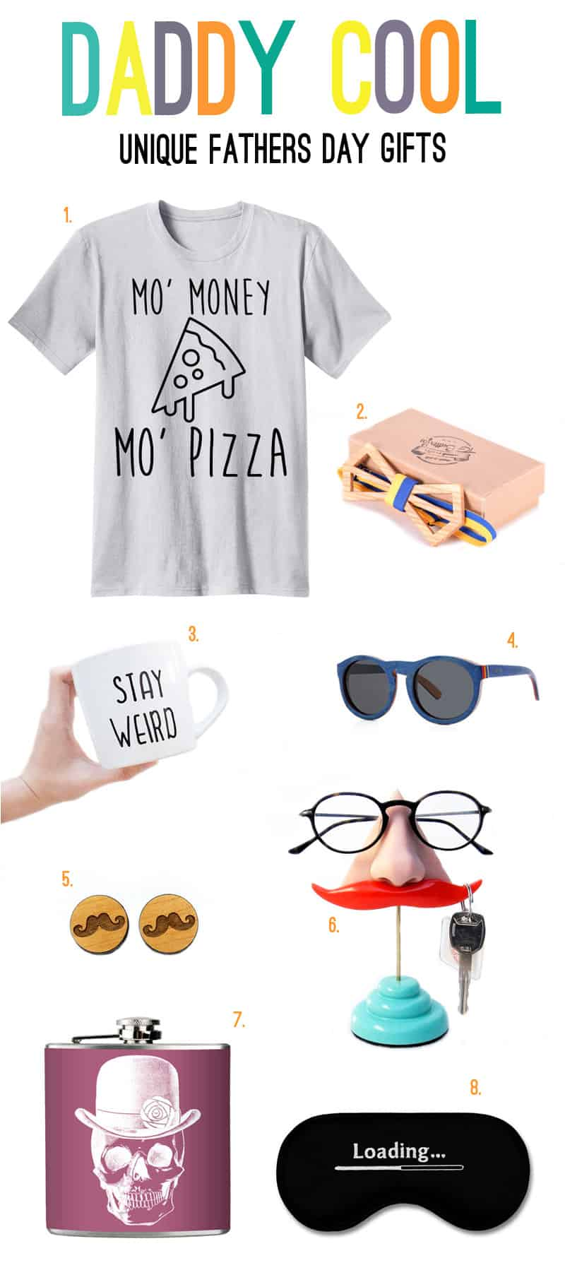 UNIQUE GIFT IDEAS FOR THE MEN IN YOUR LIVES!