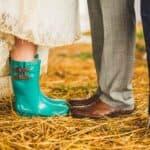 A LITTLE RAIN WON'T HURT! A COOL WEDDING ON AN ORGANIC SOLAR FARM